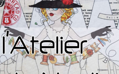 Création site vitrine – L'Atelier de Nadia – Atelier couture