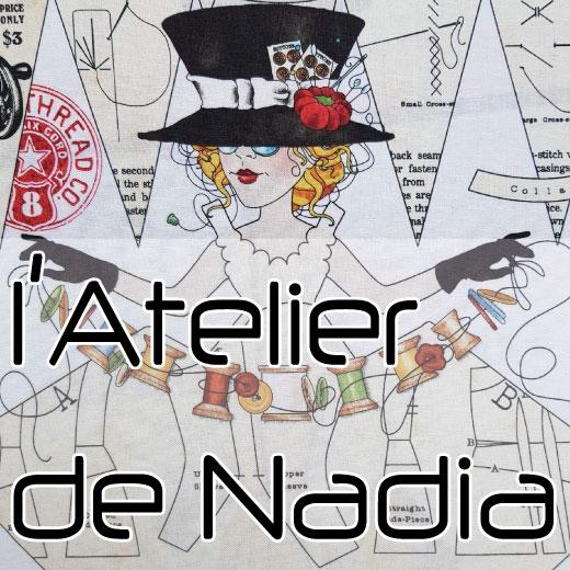 Création site internet l'atelier de nadia